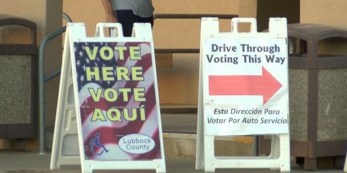 How votes are collected at the Lubbock County Elections Office