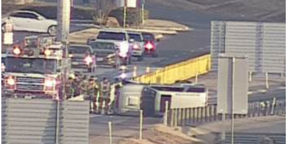 TRAFFIC ALERT: Police on scene of rollover at 34th St exit off W Loop 289