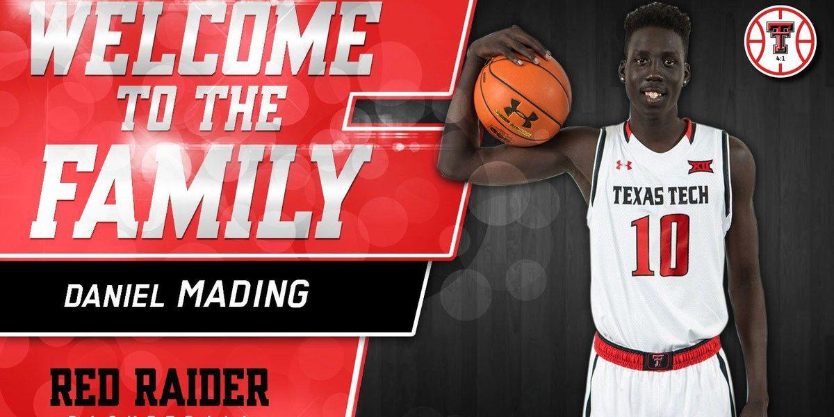 Red Raider basketball inks Daniel Mading to NLI