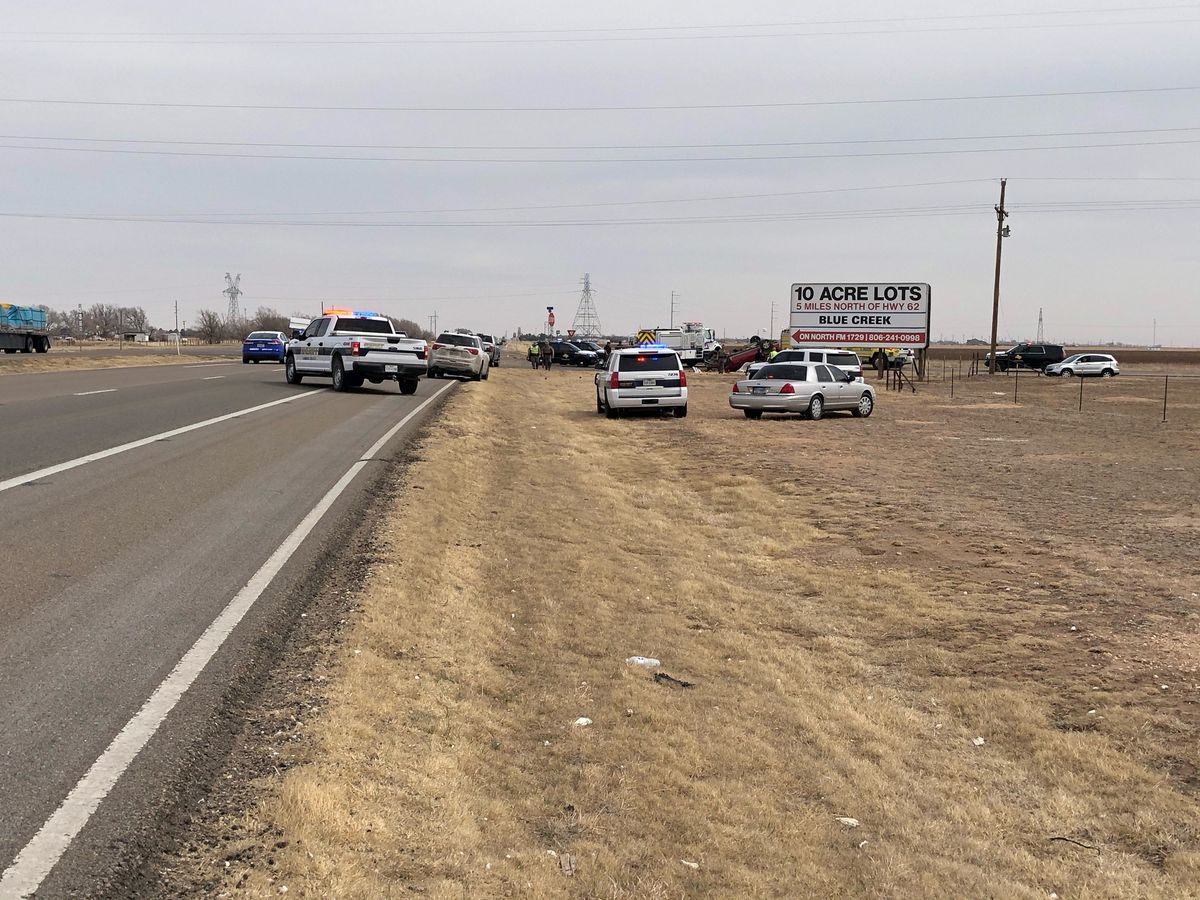 Rollover kills one, seriously injures another on Hwy. 62/82 between Lubbock and Idalou