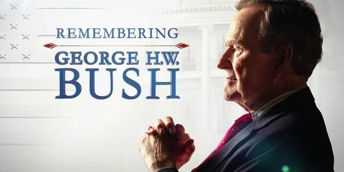 SPECIAL REPORT: George H.W. Bush's funeral service in Houston - VOD - clipped version