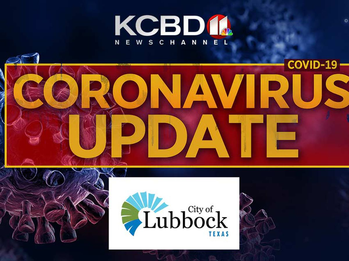 WATCH LIVE: City of Lubbock to hold Sunday news conference on COVID-19 update