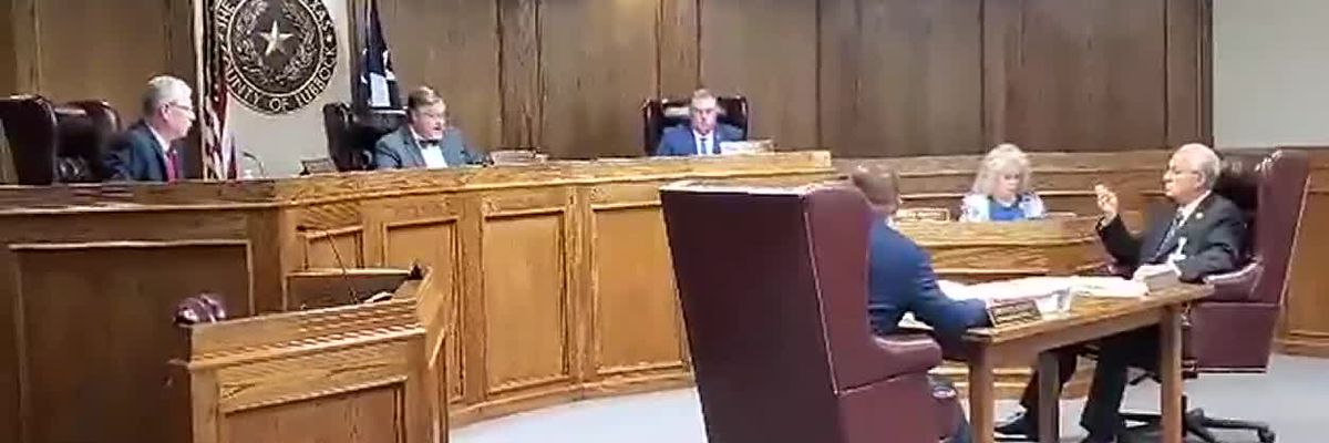 County Commissioners meeting on July 13, 2020