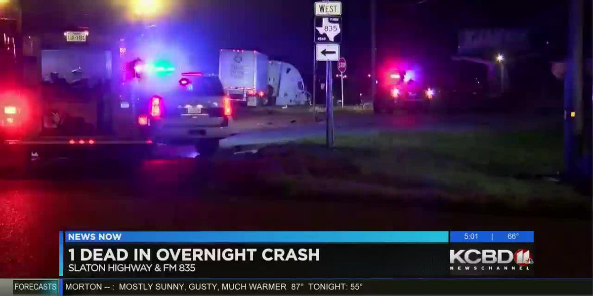 1 dead after Sunday night crash on Slaton Highway