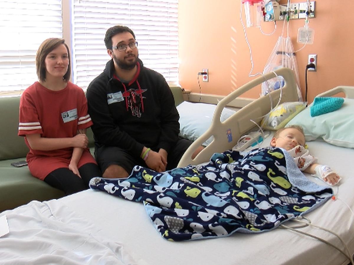 Lubbock toddler fighting fatal disease
