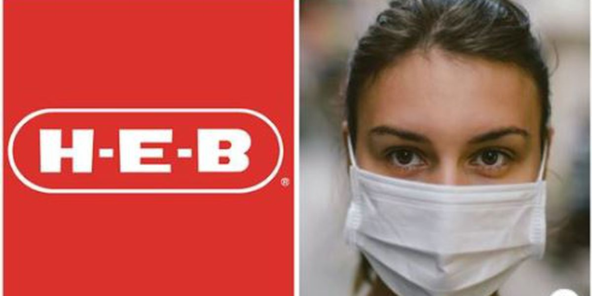 All H-E-B stores will require customers to wear face masks