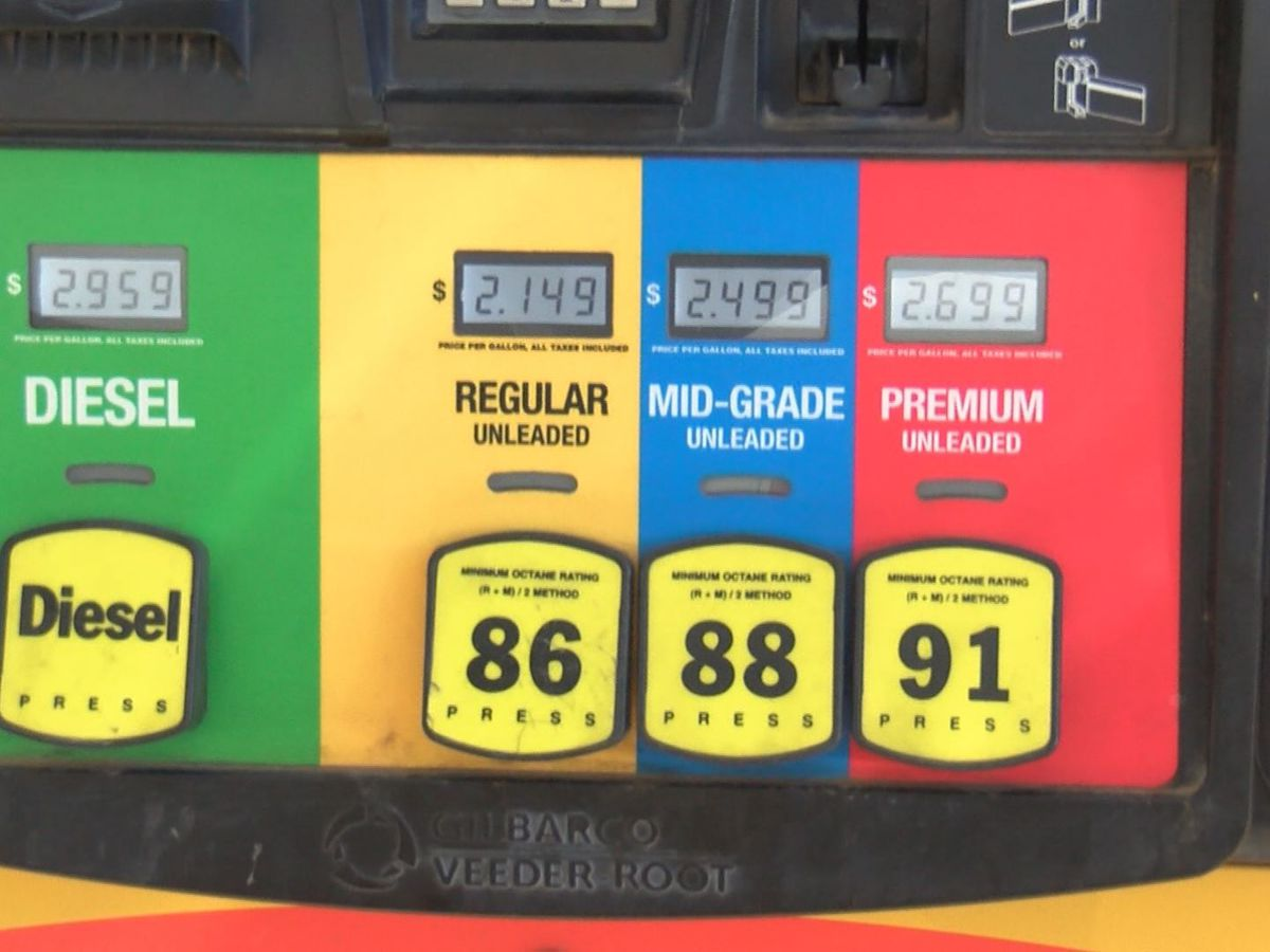 Officials say gas prices to remain low for Thanksgiving break