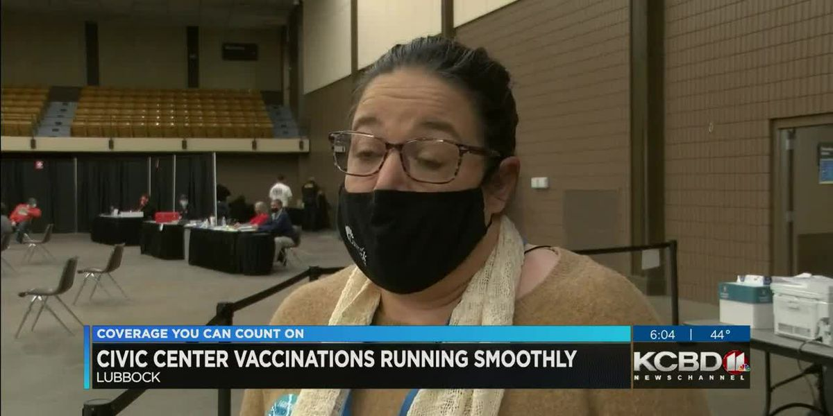 City of Lubbock to continue vaccinations at Civic Center