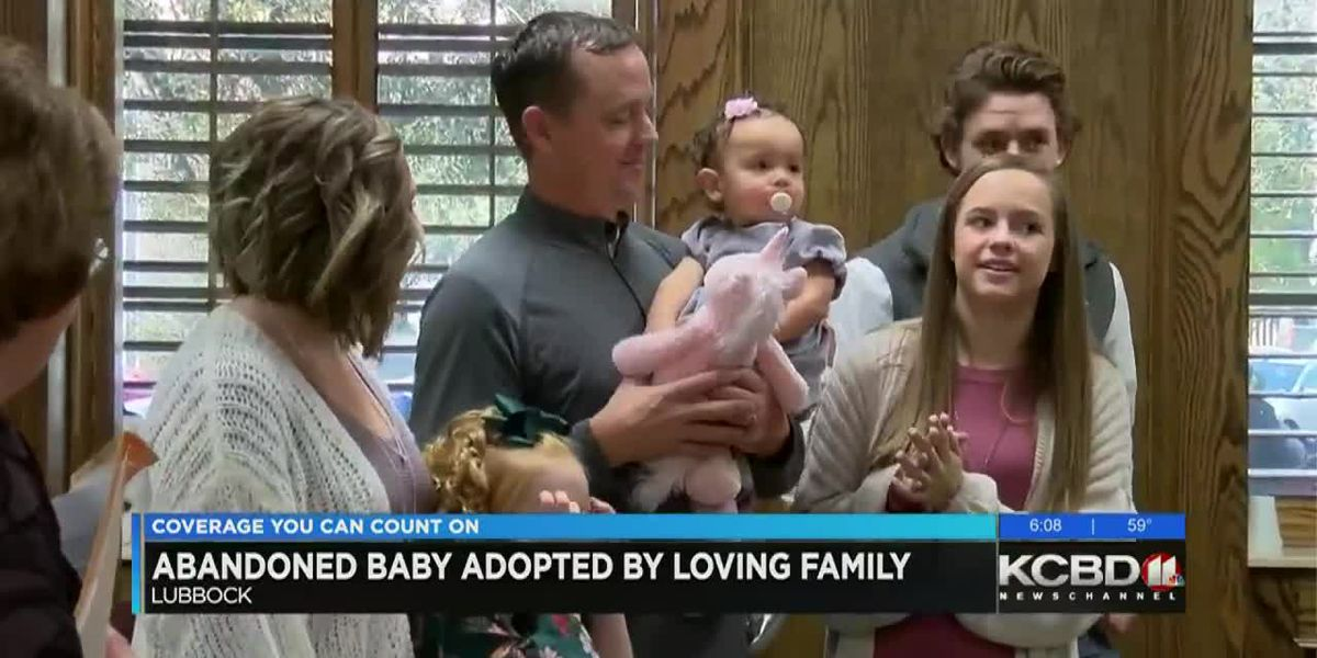 Abandoned baby finds forever family at Lubbock County Adoption Day
