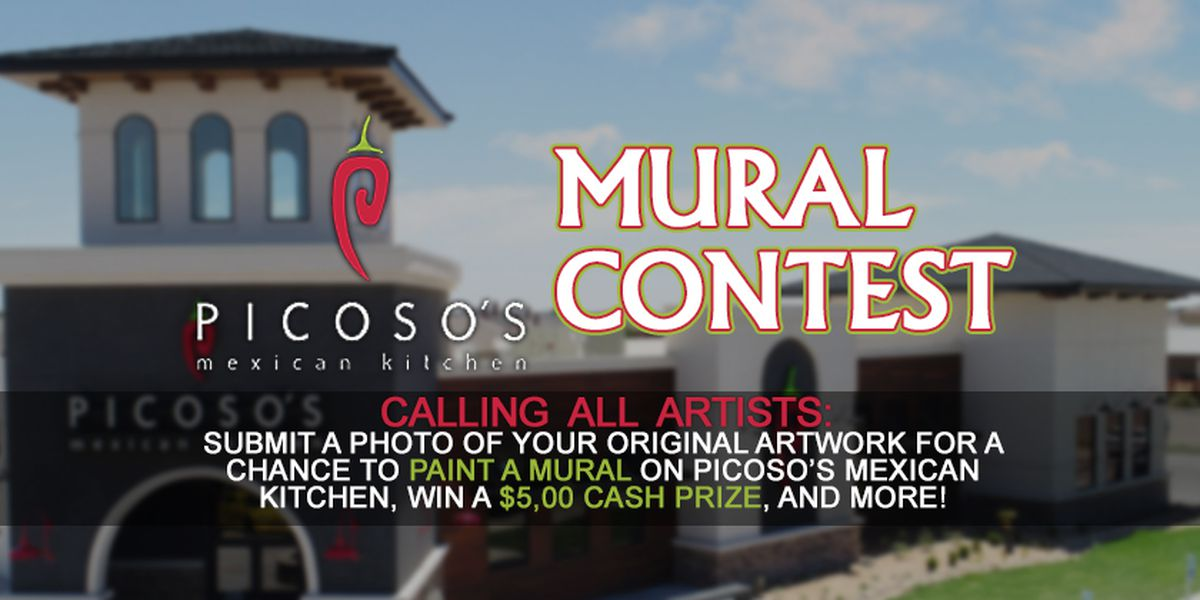 Picoso's Mexican Kitchen Mural Contest Official Rules