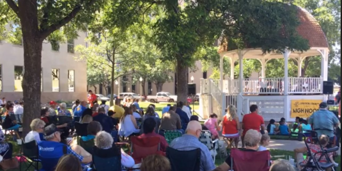 High Noon concerts continue through August