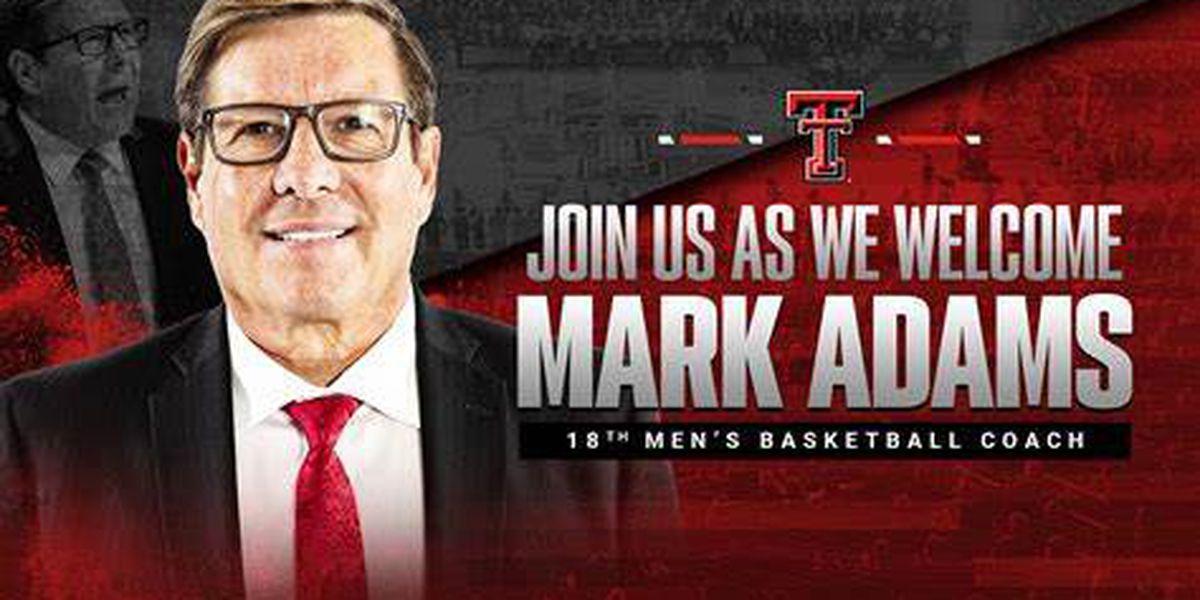 WATCH LIVE: Mark Adams welcomed as new Texas Tech head men's basketball coach at 6 p.m.