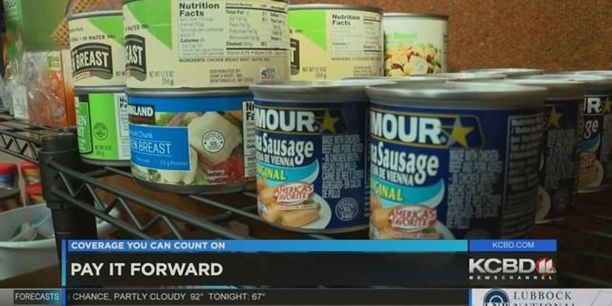 Pay It Forward: Visiting Raider Red's food pantry