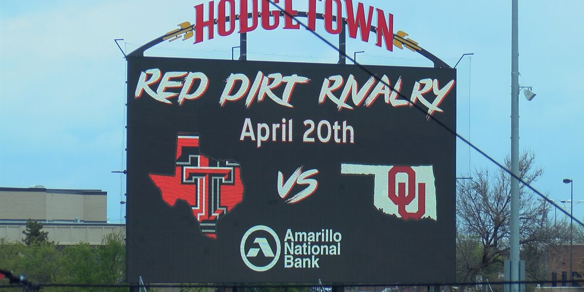Red Raiders and Sooners reschedule non-conference game in Amarillo for May 4