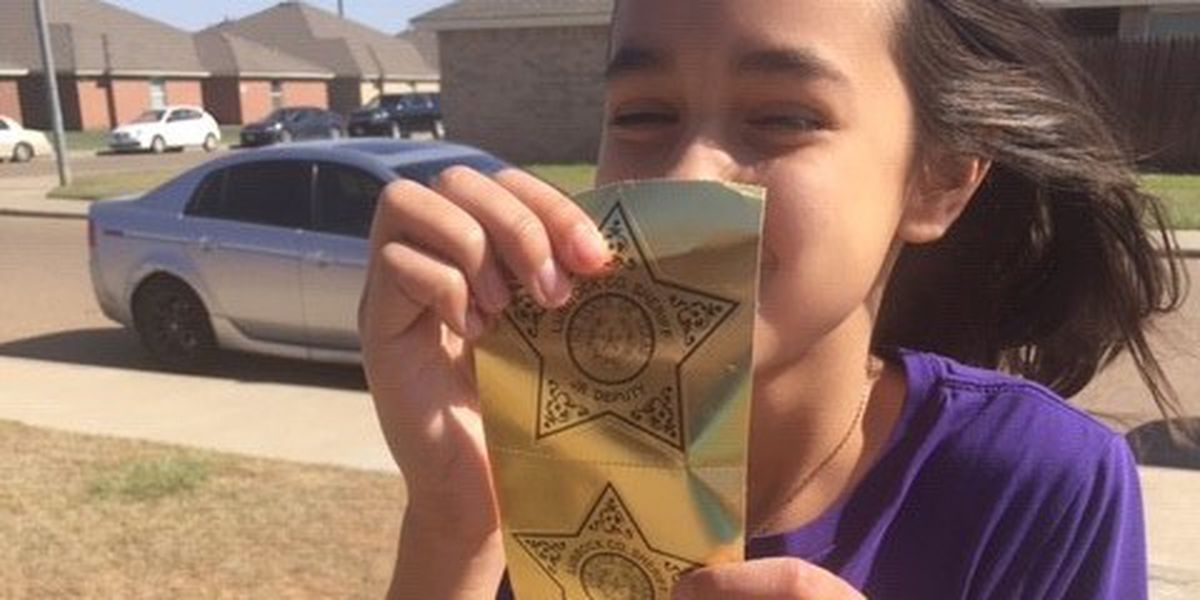 VIDEO: Deputies, Fire Department offer birthday wishes for Lubbock girl