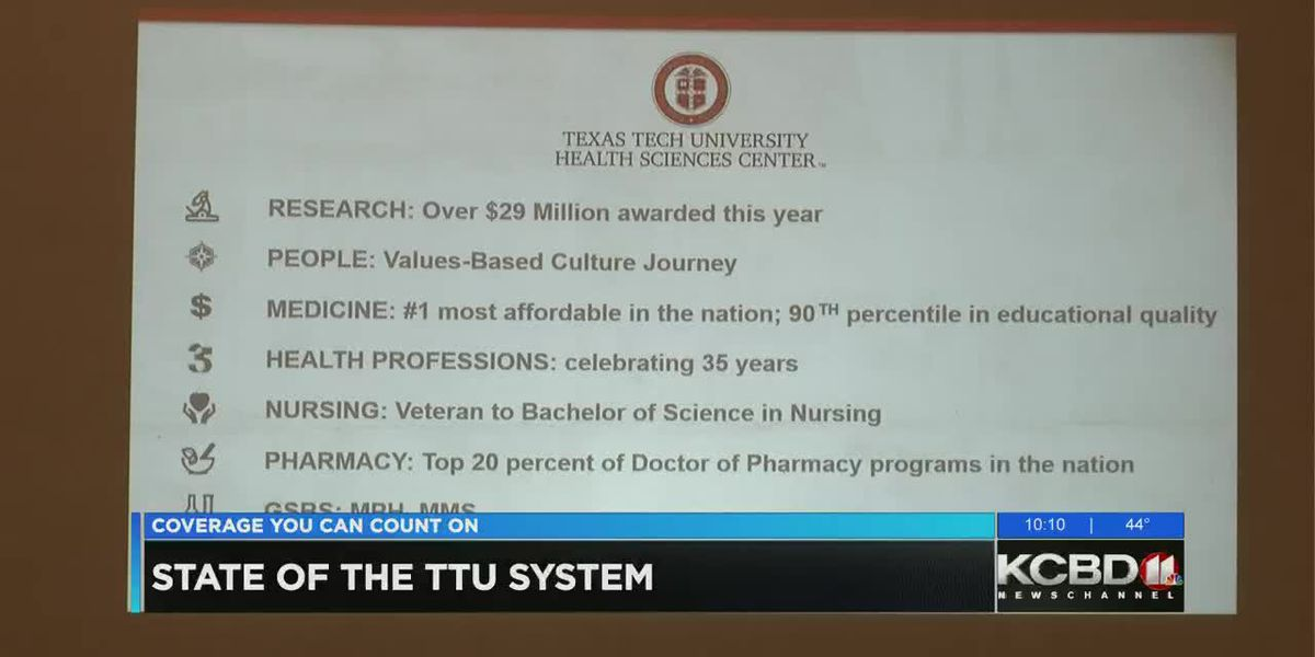State of TTU luncheon reveals developments, enrollment numbers,