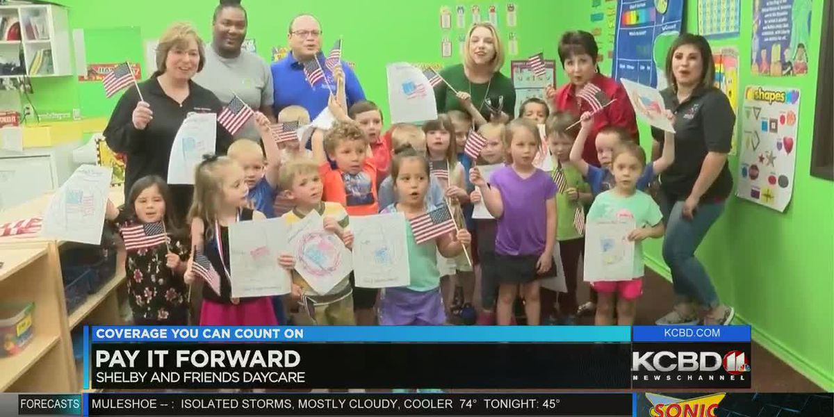 Pay It Forward: Snacks, books and drinks for Shelby and Friends daycare
