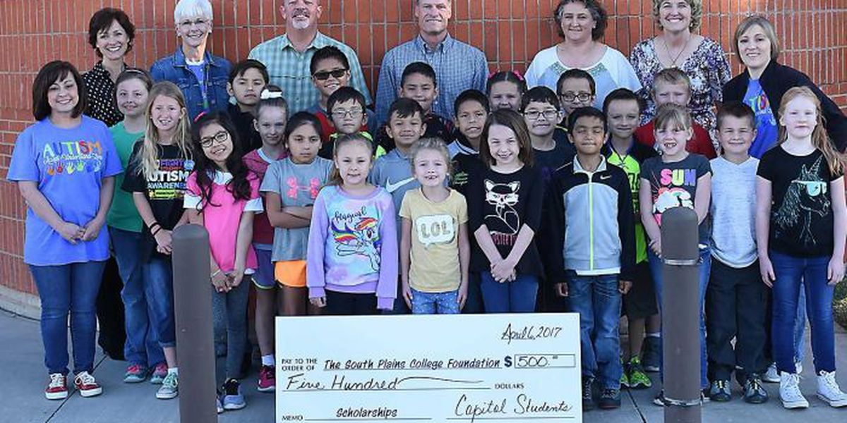 Capitol Elementary School students, faculty make donations to SPC Foundation