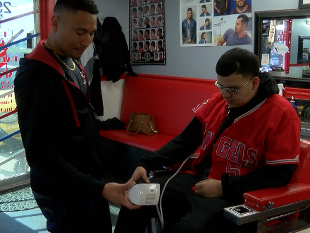 TTU medical students save lives by checking blood pressure at barber shops