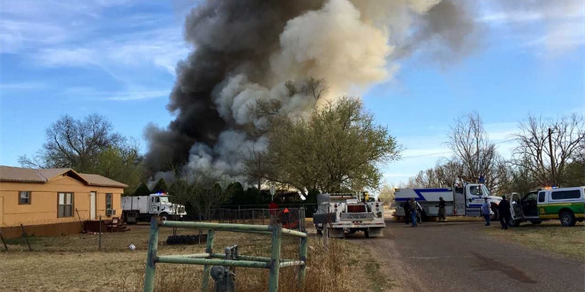 House lost to fire in northeast Lubbock