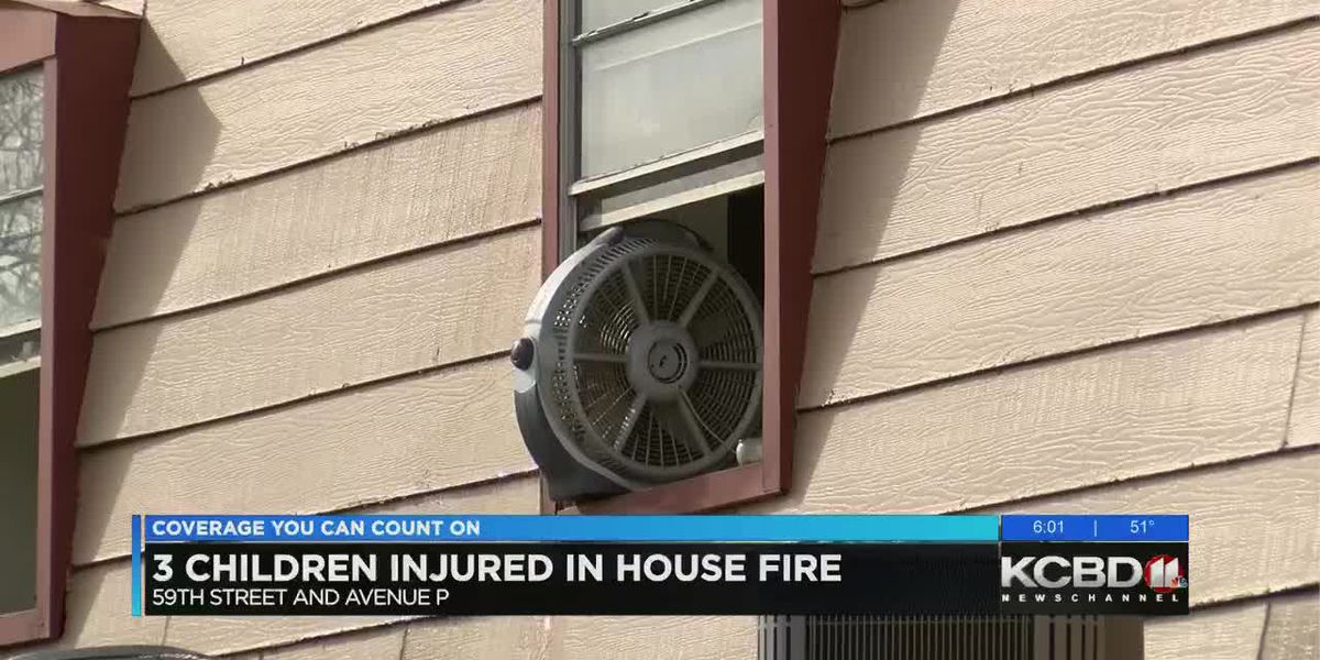 3 unconscious children found in house fire are in serious condition