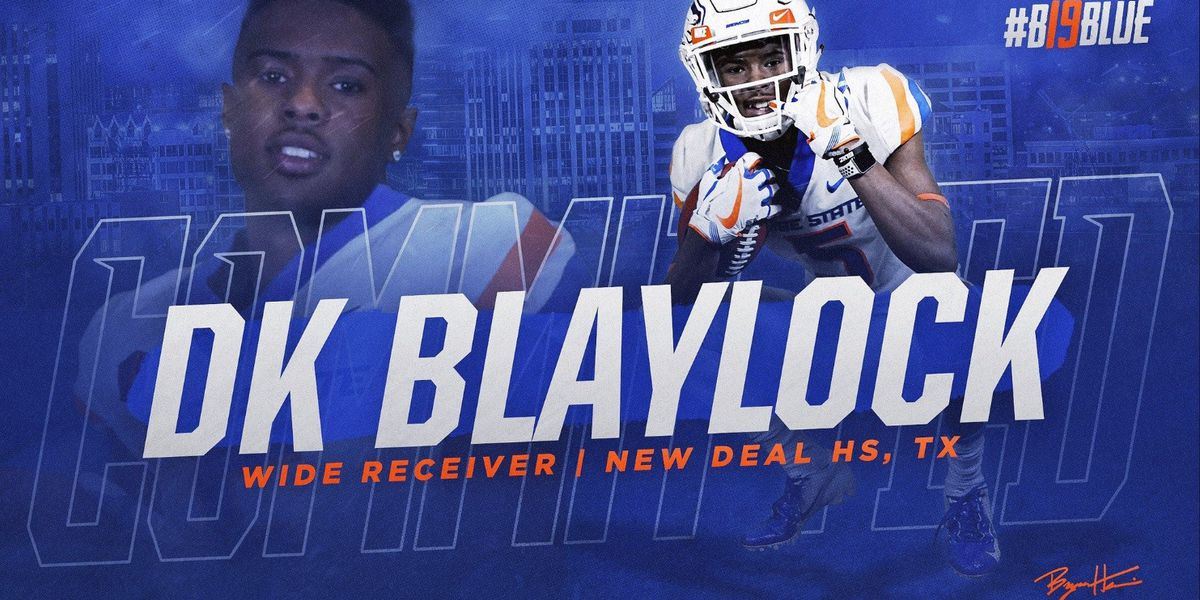 New Deal's DK Blaylock commits to Boise State