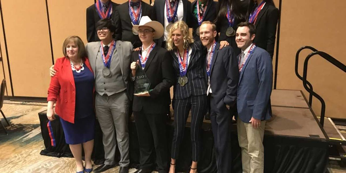 Lubbock High places second in national academic decathlon