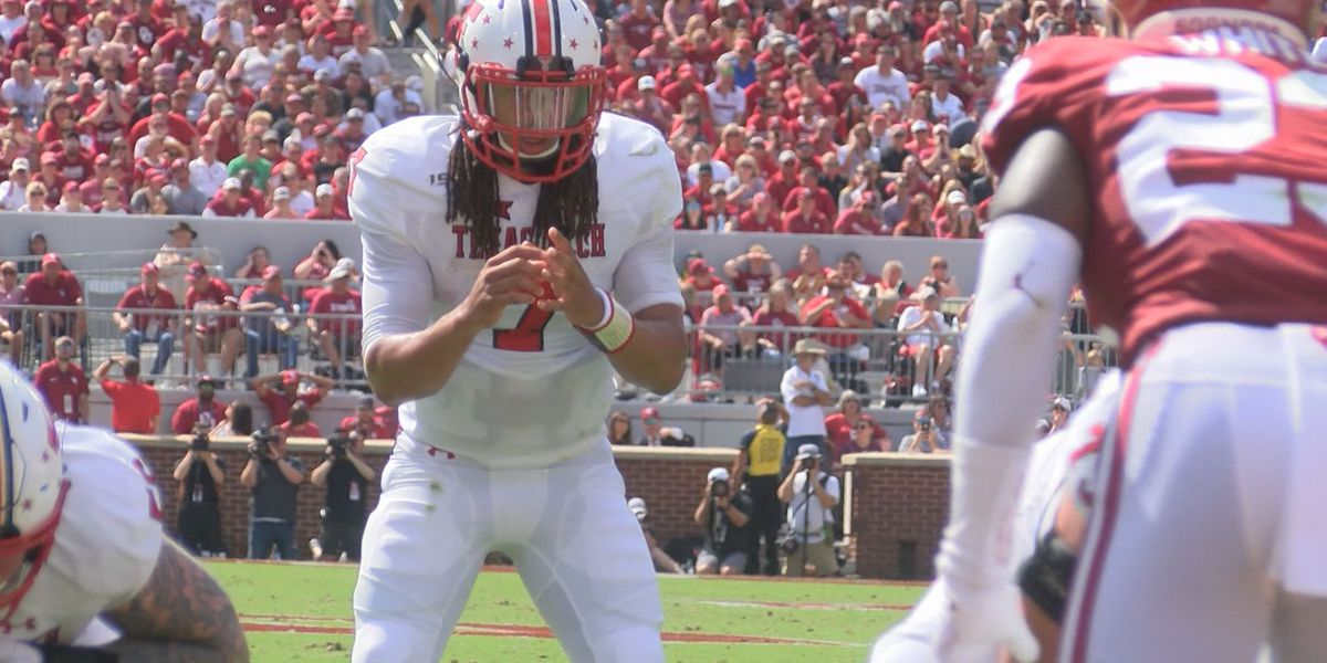 Jett Duffey named starting QB for Texas Tech