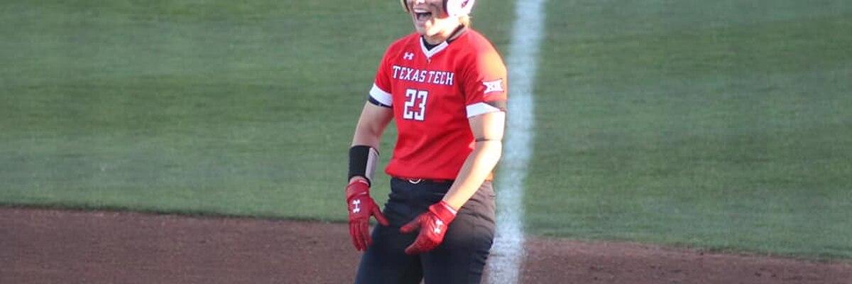 No. 12 Texas Tech softball ties series with Kansas