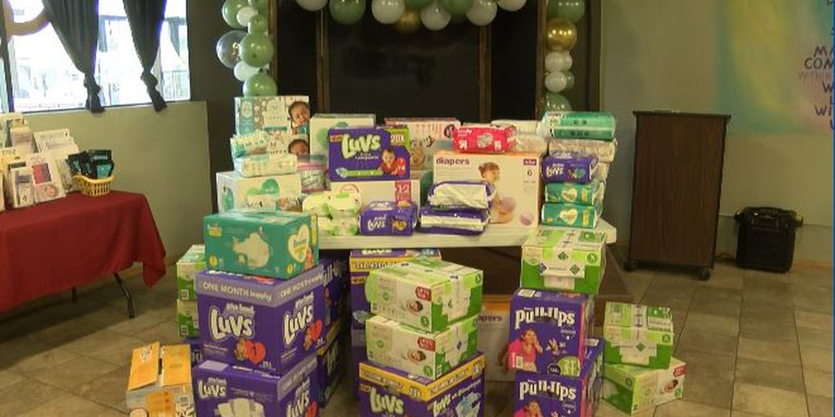 Amherst mom hosts diaper drive in daughter's memory