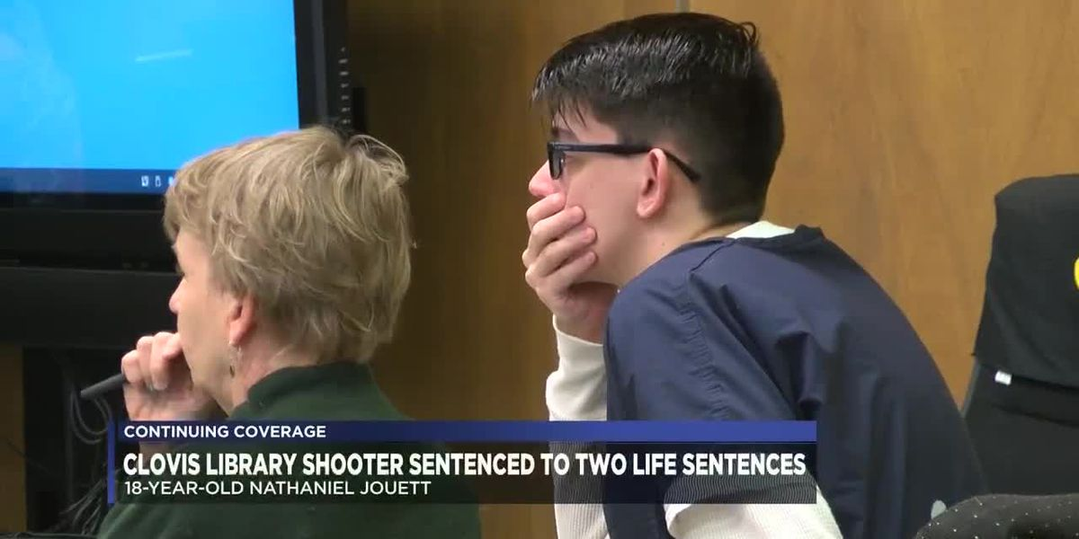 Judge sentences Nathaniel Jouett to two life sentences