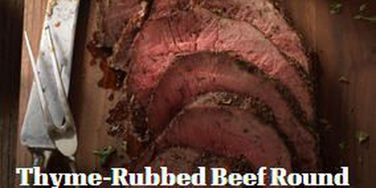 Noon Notebook 12/5: Texas Beef Council shares thyme-rubbed beef recipe