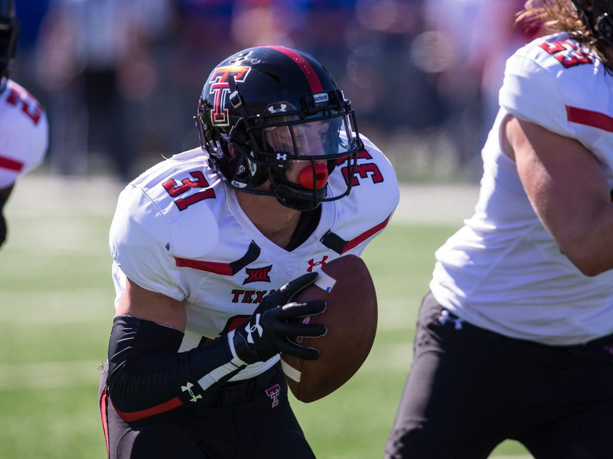 Justus Parker ready to learn from mistake that cost him his Red Raider football career
