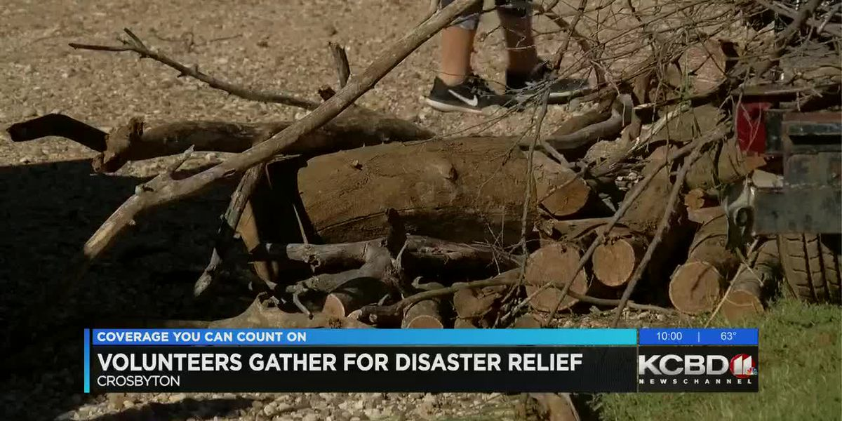 South Plains VOAD holds clean-up event in Crosbyton