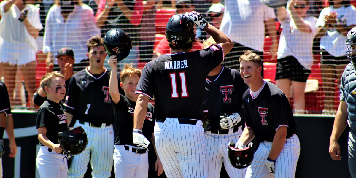 No. 16 Texas Tech baseball flexes their muscles in series finale
