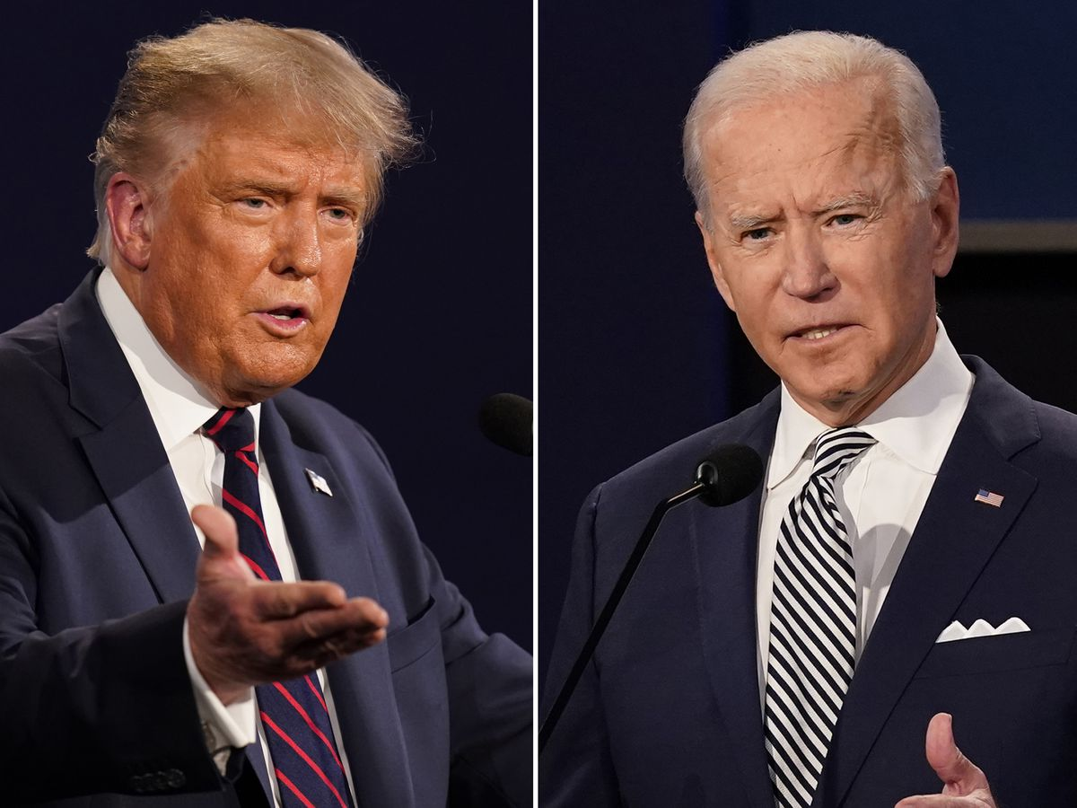 Trump, Biden fight for Florida, appeal for Tuesday turnout