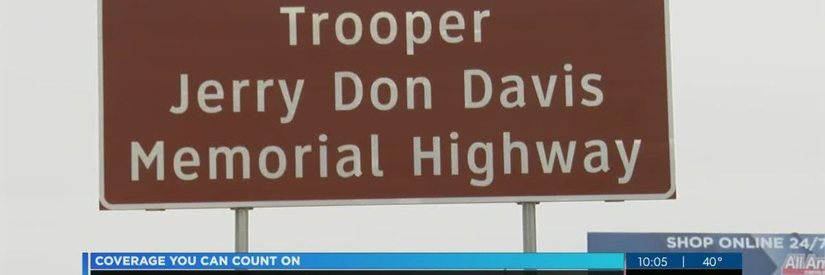 Portion of Hwy 84 renamed for fallen trooper
