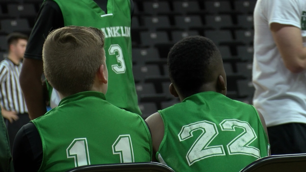 Despite Saturday tornado, team from Franklin competing in Little Dribblers tournament