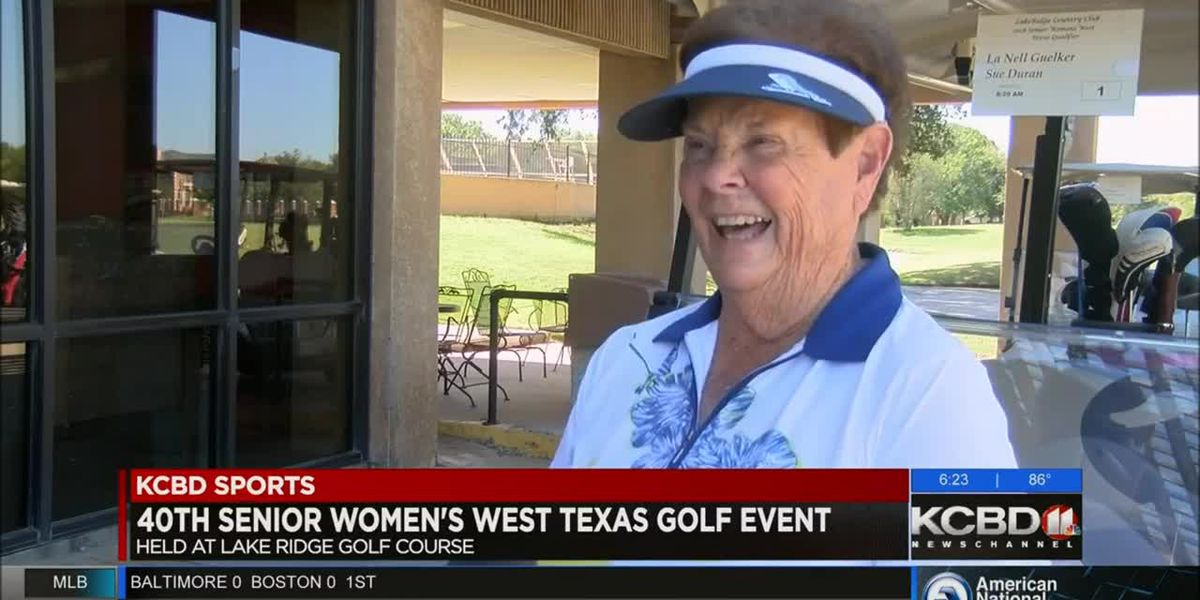 Senior Women's golf event in Lubbock