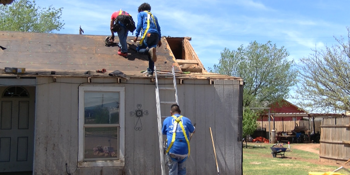 LARCA repairing Crosbyton home roofs damaged by last year's hail storm