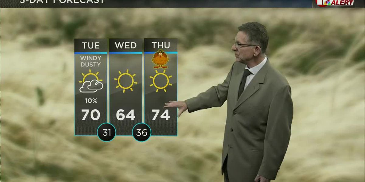 """Spring-like this afternoon, a """"mild"""" Thanksgiving"""