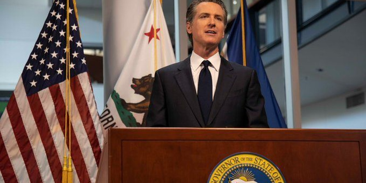 Newsom: California stay-at-home guidelines