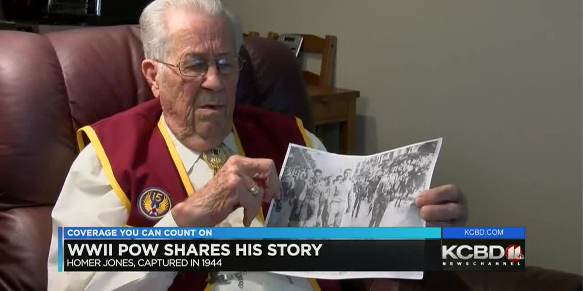 World War II vet shares story of escape from German POW camp