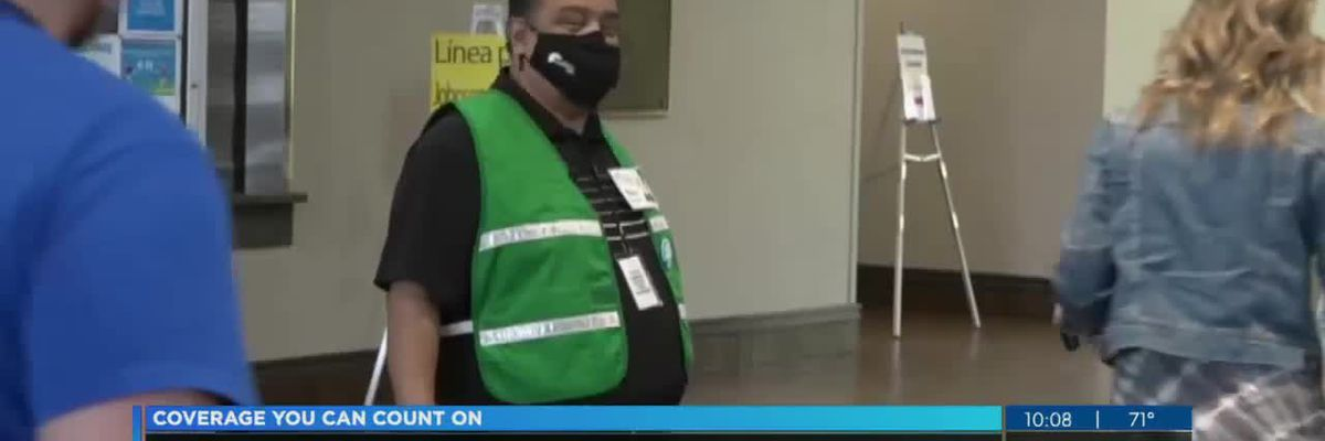 City employee on front line of Civic Center vaccine clinic