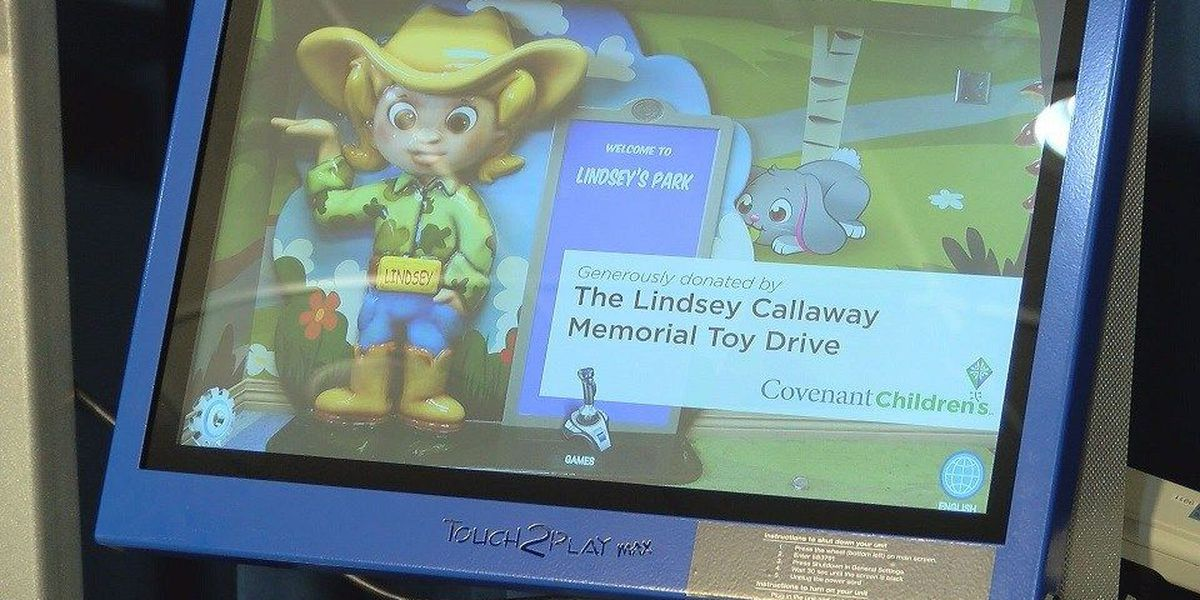 Covenant Children's hospital receives new gaming system