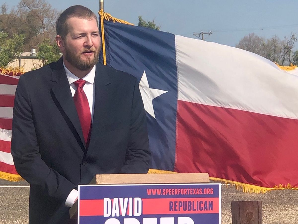 David Speer officially announces Texas House of Representatives District 83 GOP campaign