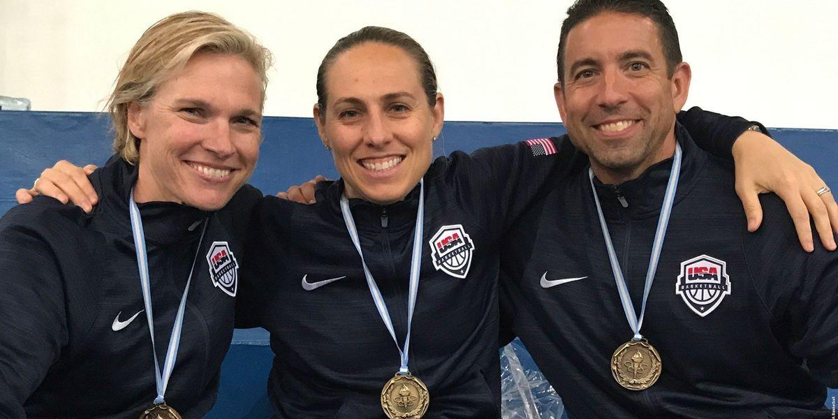 LCU's Steve Gomez assists USA Women's Basketball U16 team to Gold Medal