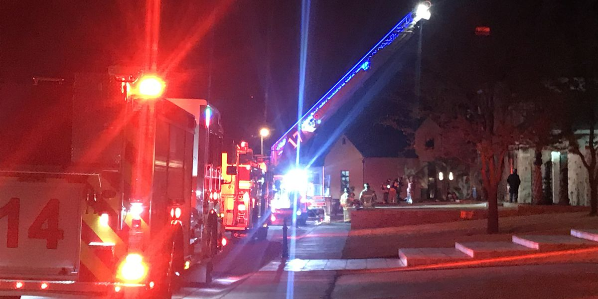 Lubbock Fire Rescue respond to south Lubbock house fire, no injuries reported