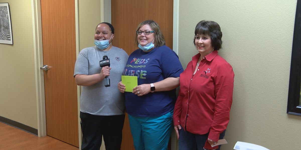 Pay It Forward: Surprising a Lubbock pediatric nurse
