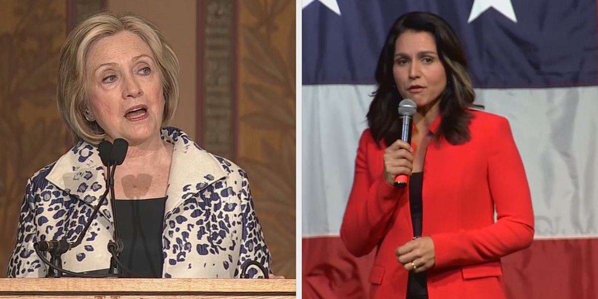 Gabbard sues Clinton for defamation over 'Russian asset' comment